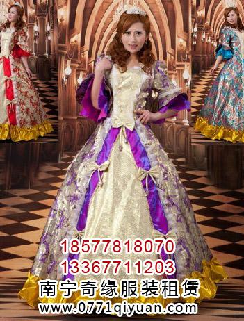 欧式宫廷婚纱主题服装欧美皇室宫廷礼服新娘婚礼服装