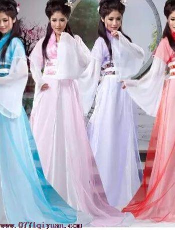 飘逸七仙女古装戏服演出服