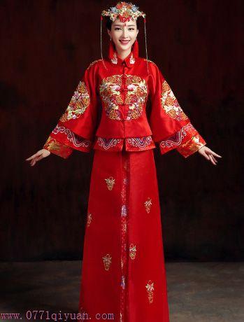 南宁中式婚礼服装出租广西南宁汉式传统婚礼婚庆策划