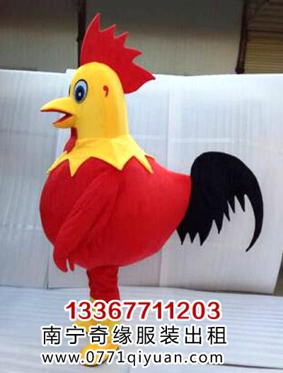 12生肖公鸡卡通人偶